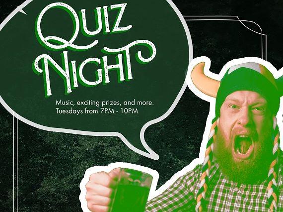 Tuesday Quiz Night 123